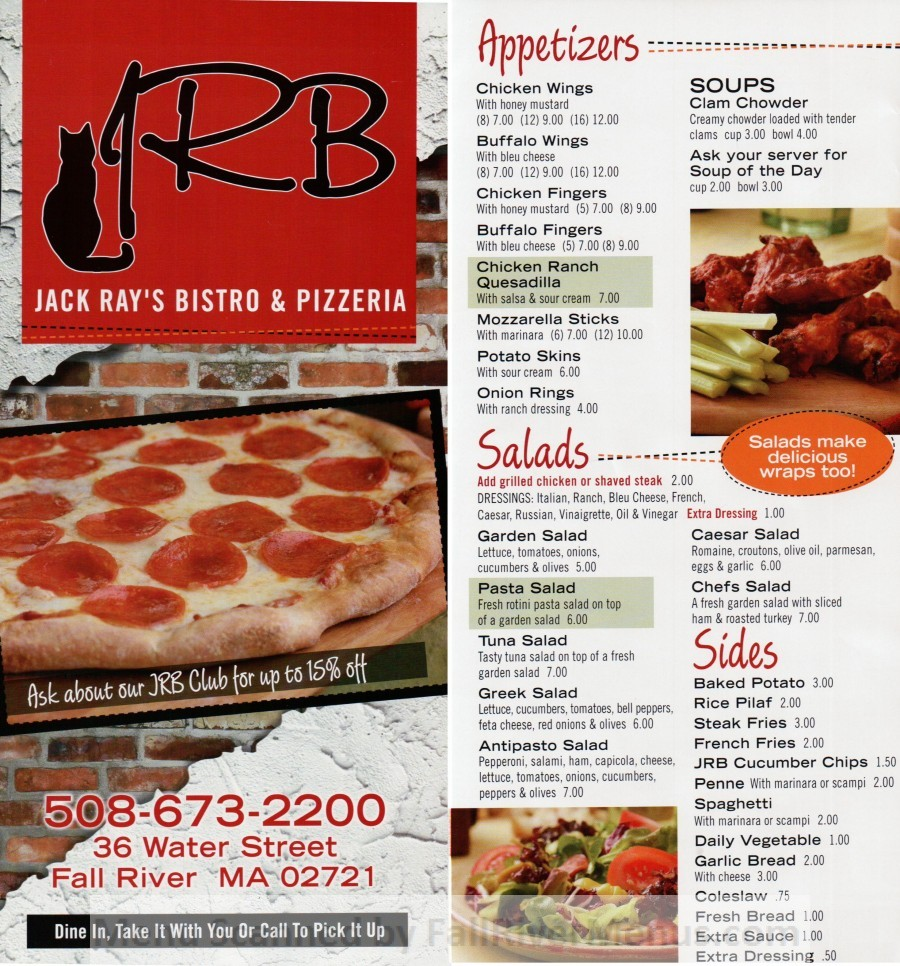 Jack Ray's Bistro and Pizzeria (closed)