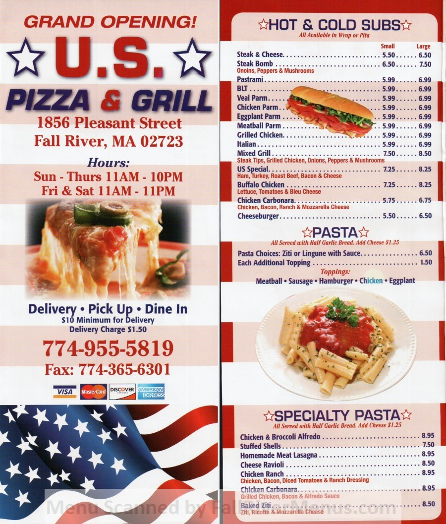 U.S. Pizza and Grill