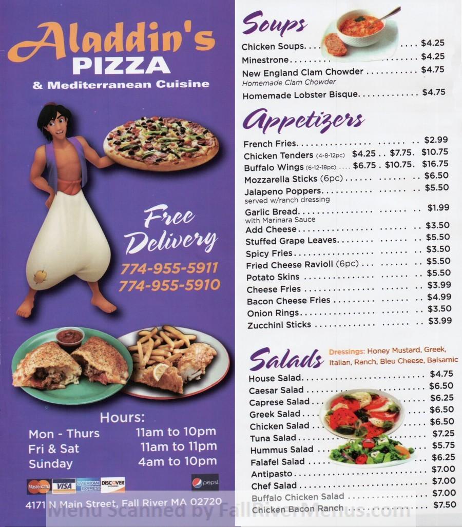 Aladdin's Pizza & Mediterranean Cuisine