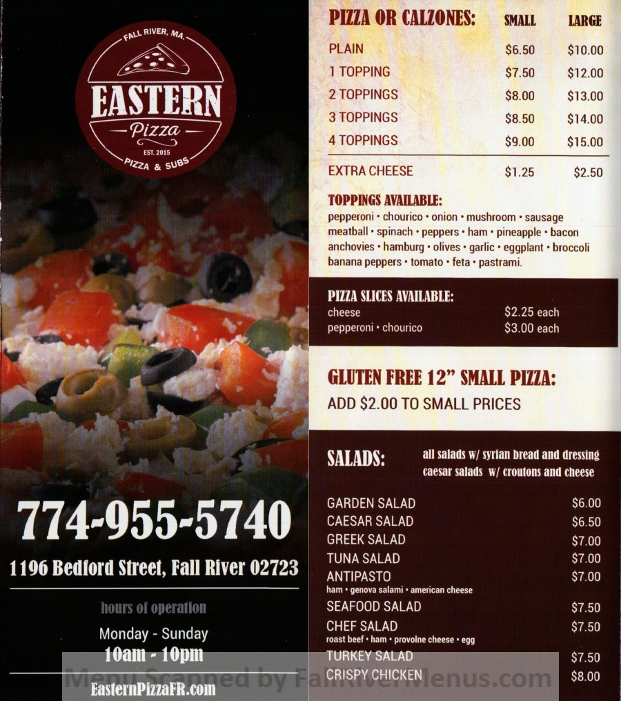 Eastern Pizza