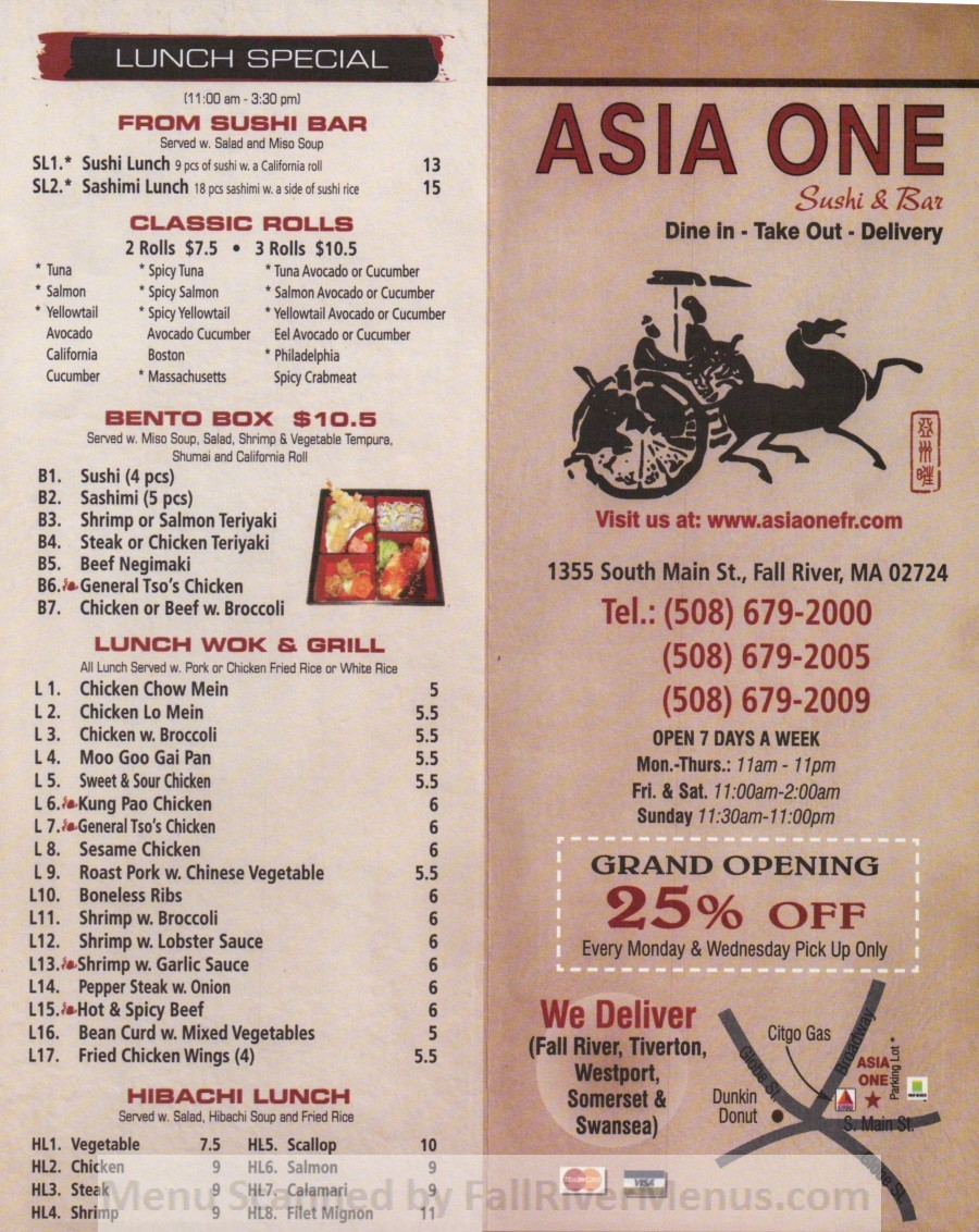 Asia One Bistro