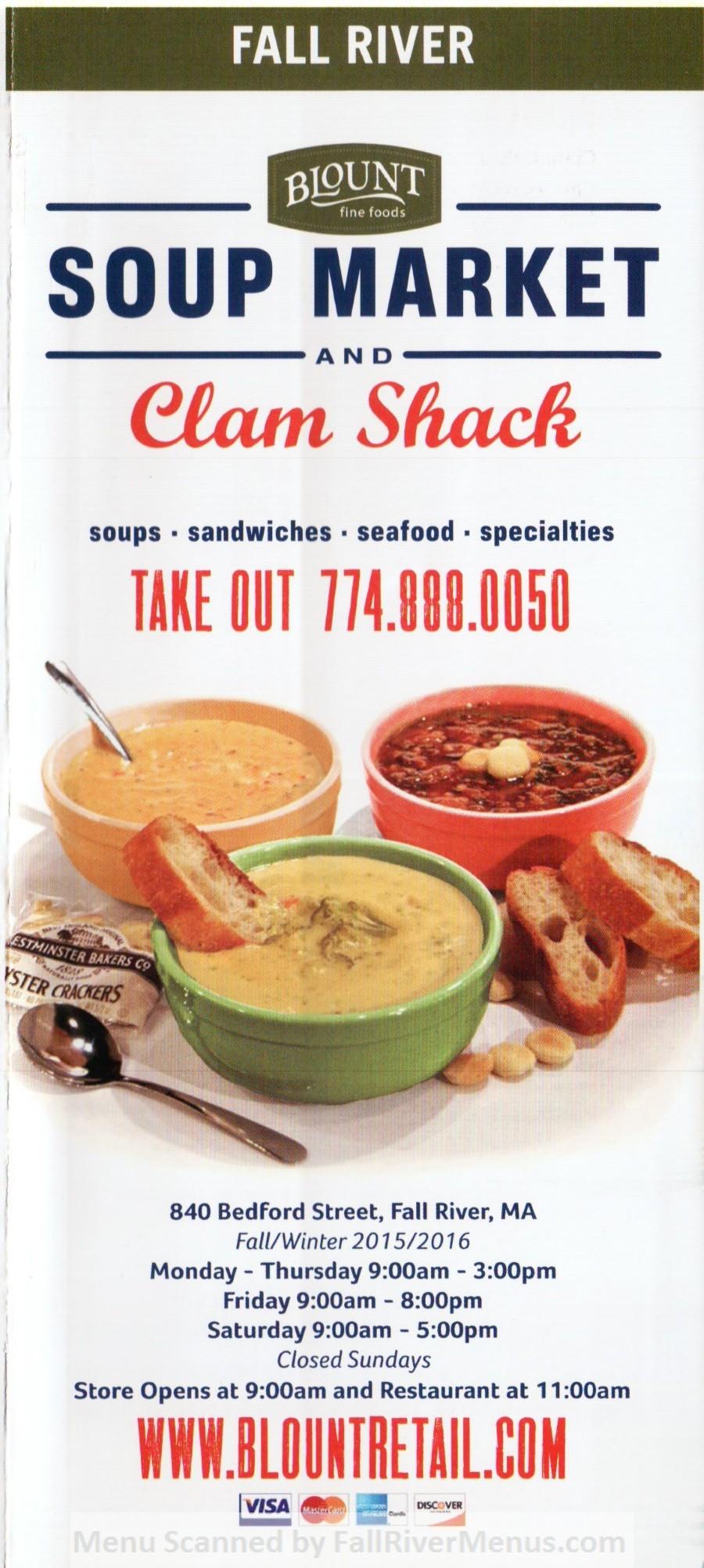 Blount Company Soup Store