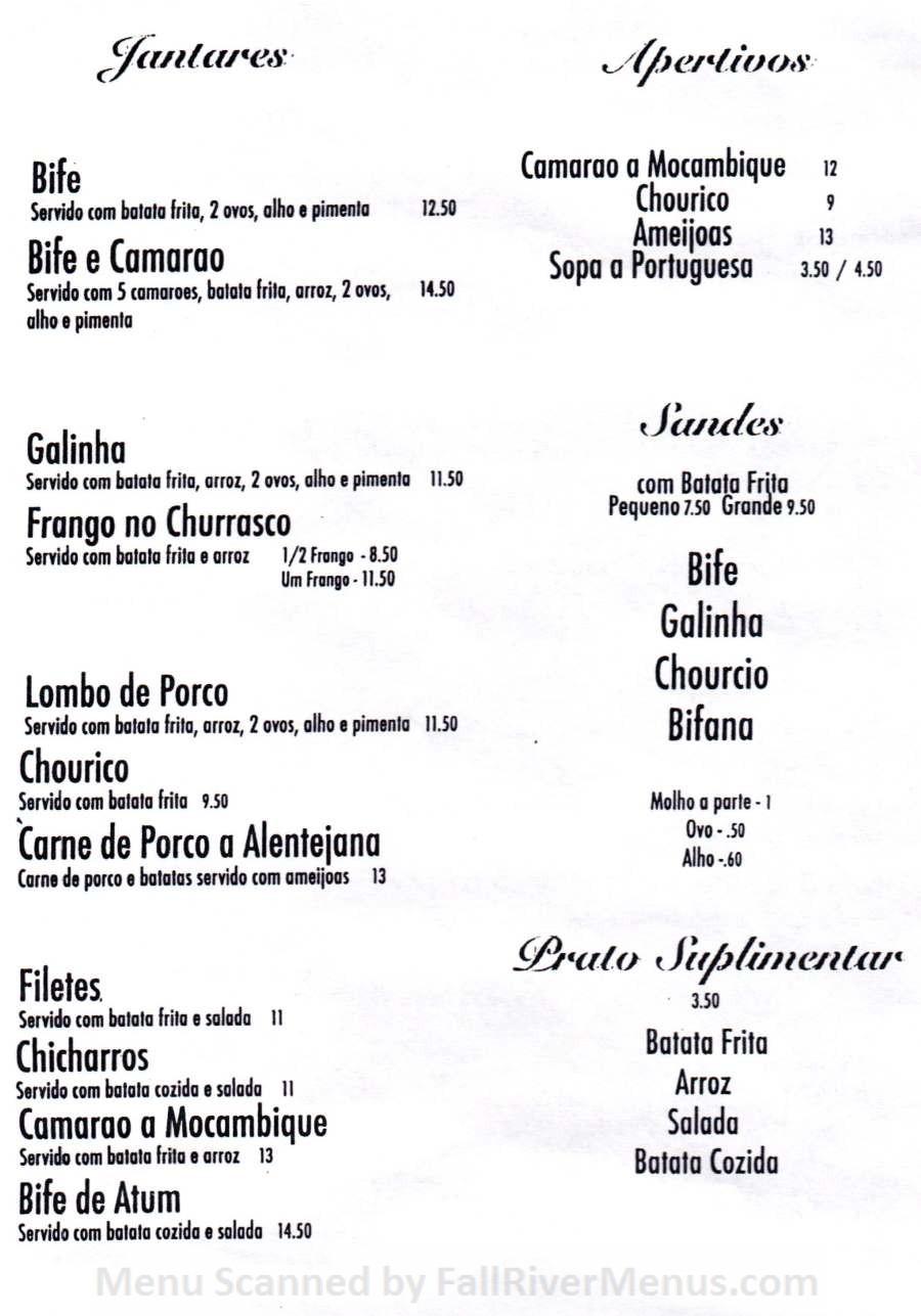 Caravela Family Restaurant  Fall River Restaurants