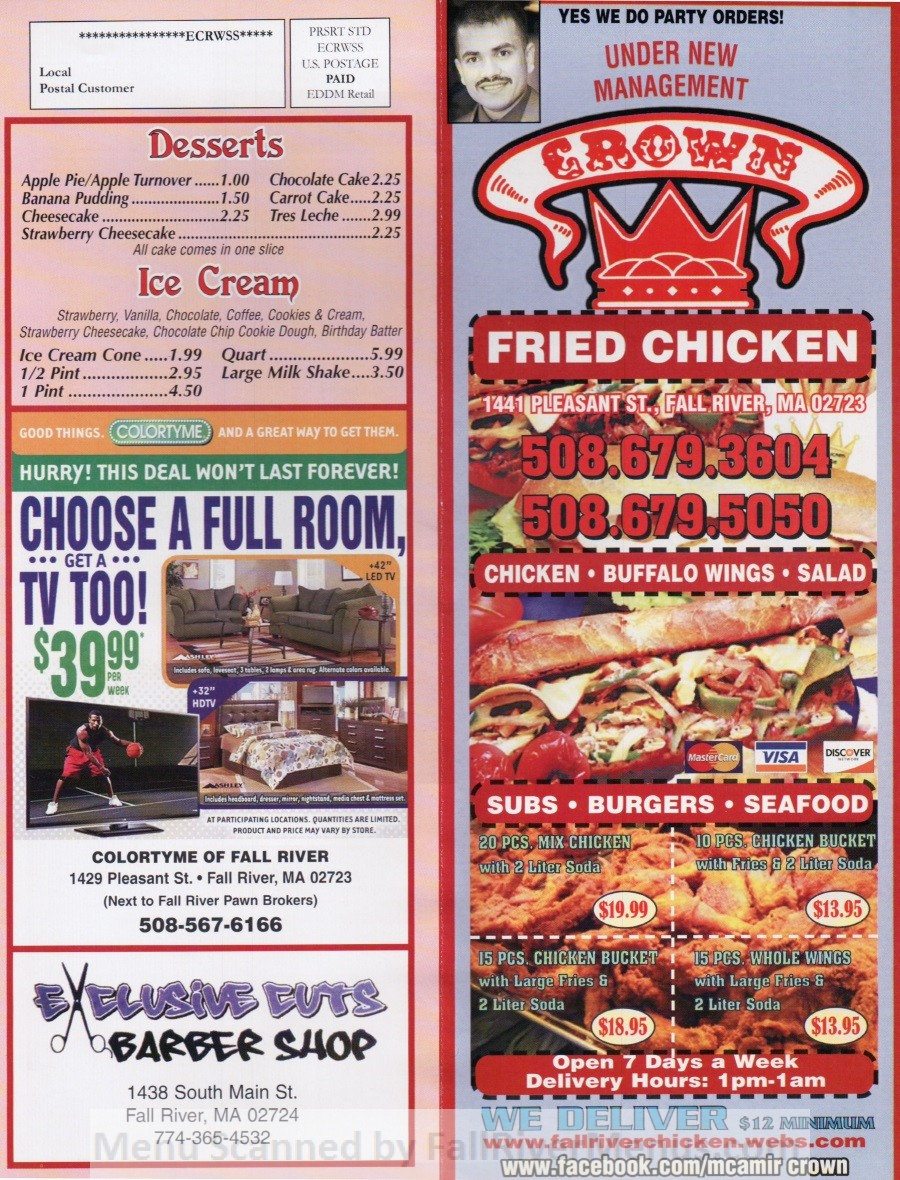 (Permanently closed) Crown Fried Chicken