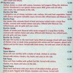 fiesta mexican restaurant menu 4 scnd 4-19-2016
