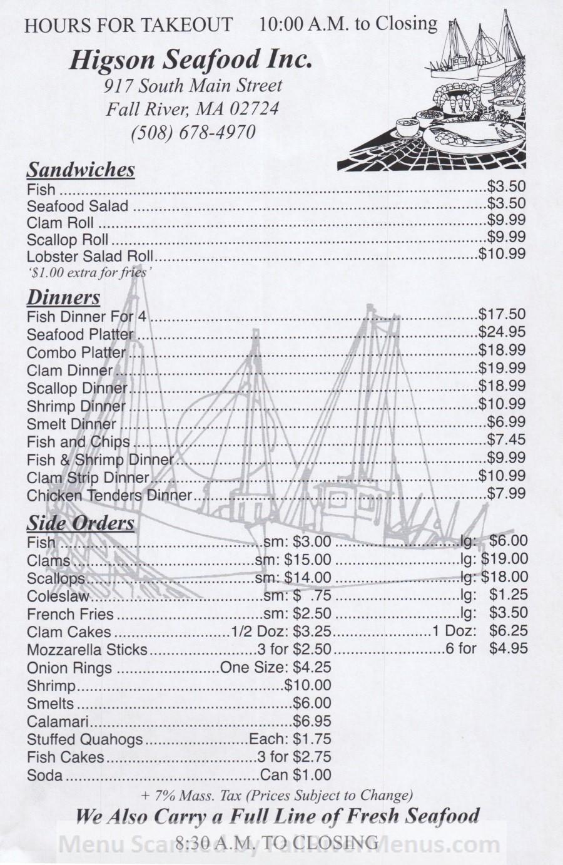Higson Sea Food