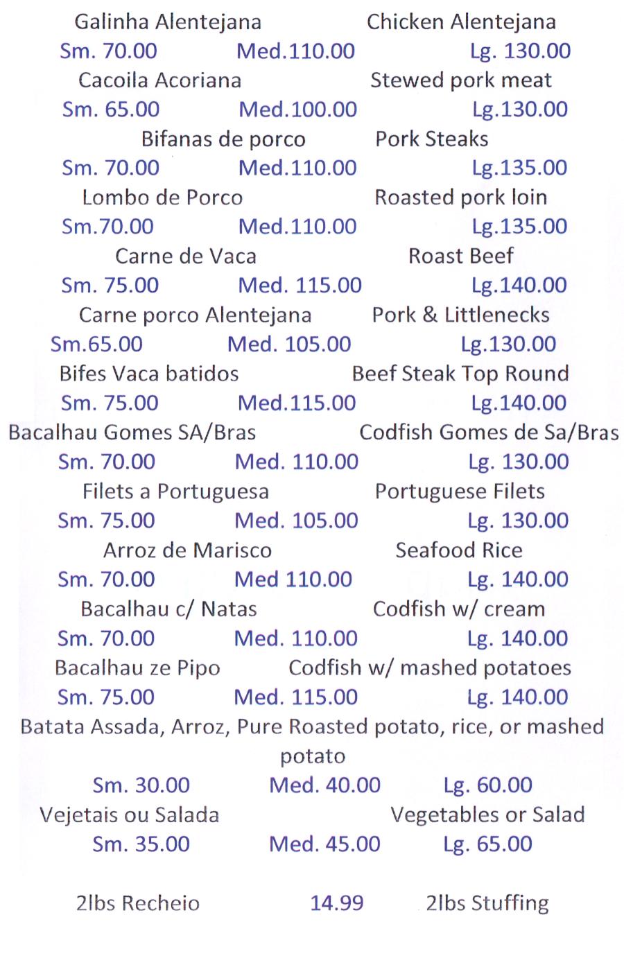 mr chicken fall river menu 7 scnd 7-7-7  Fall River Restaurants