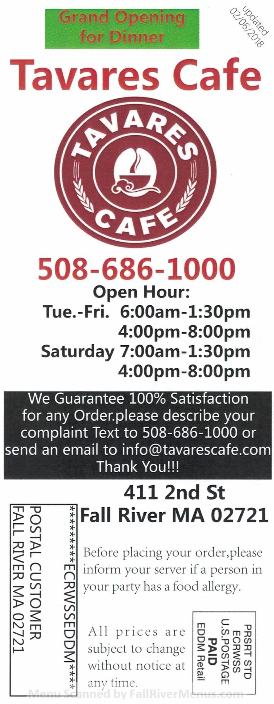 Tavares Cafe