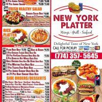 New York Platter Take-Out Menu