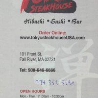 Tokyo Steakhouse Fall River